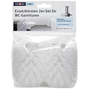 Rossmann Ideenwelt Ersatzbürsten 2er Set für WC-Garnituren