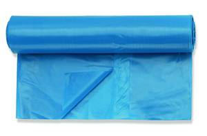 Abfallsäcke, stabile Ausführung, 25 Stück, 120 Liter, blau