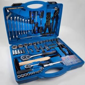Werkzeugkoffer für die Werkstatt 1/2 / 1/4 99 teilig
