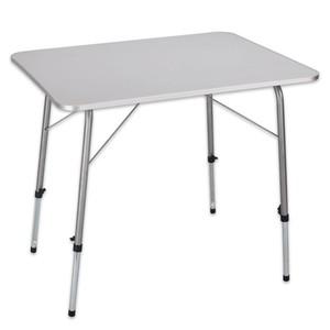 Höhenverstellbarer Camping-Tisch 80 x 60 cm