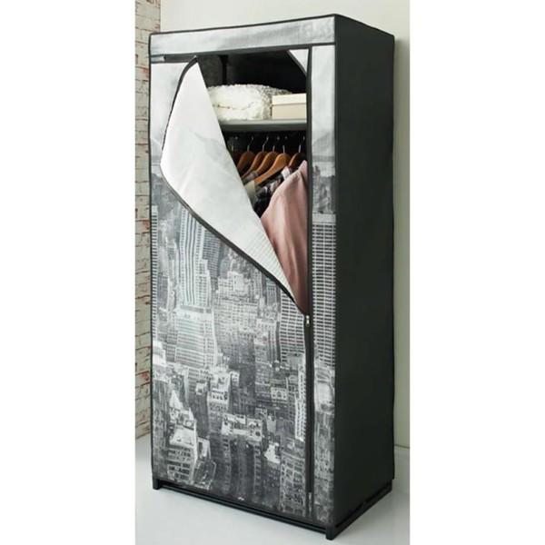 Mobiler Textil-Kleiderschrank »New York« 160 x 73 x 45 cm von Jawoll ...
