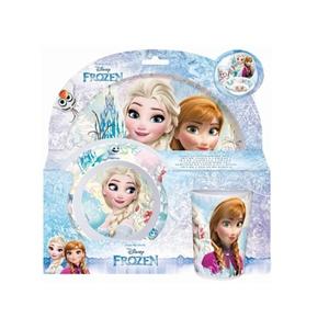 Disney Die Eiskönigin - Melamin-Geschirrset, 3-tlg.