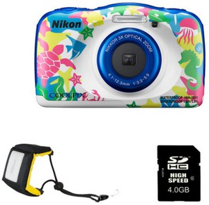 Nikon Coolpix W100 Sports Kit Digitalkamera marine