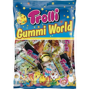 Trolli - Gummi World, 230g