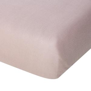Linon-Bettlaken (150x250, taupe)