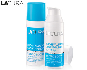 LACURA Duo-Hyaluron Gesichtspflege HYDRO BOOST