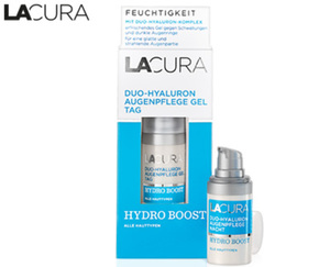 LACURA Duo-Hyaluron Augenpflege HYDRO BOOST