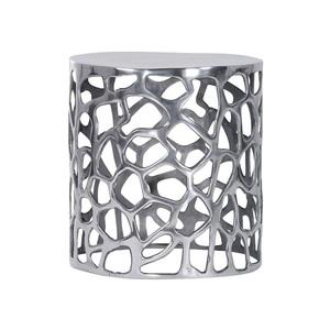 INTERhome Beistelltisch MIX & MATCH Aluminiumdesign Ø 54 cm