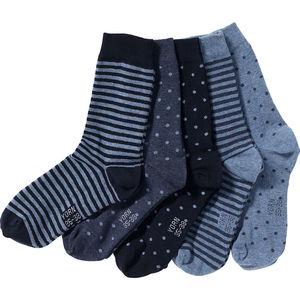 Yorn Damen Socken, 5er-Pack