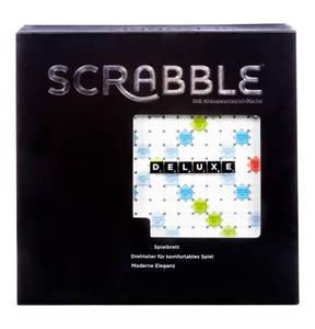 """MATTEL        Gesellschaftsspiel """"Scrabble Deluxe"""""""