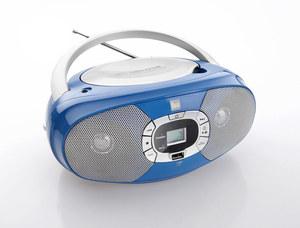 Dual Portable CD-Boombox P390, Blau