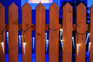 Merxx LED Eiszapfenkette, 40er, außen