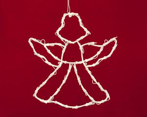 Merxx 49er Weihnachtssilhouette, Motiv Engel, innen