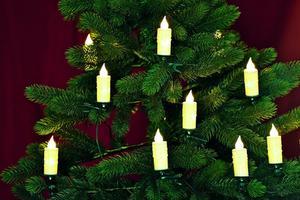 Merxx LED Kerzenkette, 20er, innen
