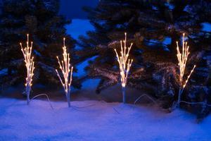 Merxx 4er LED Lichtzweige, außen