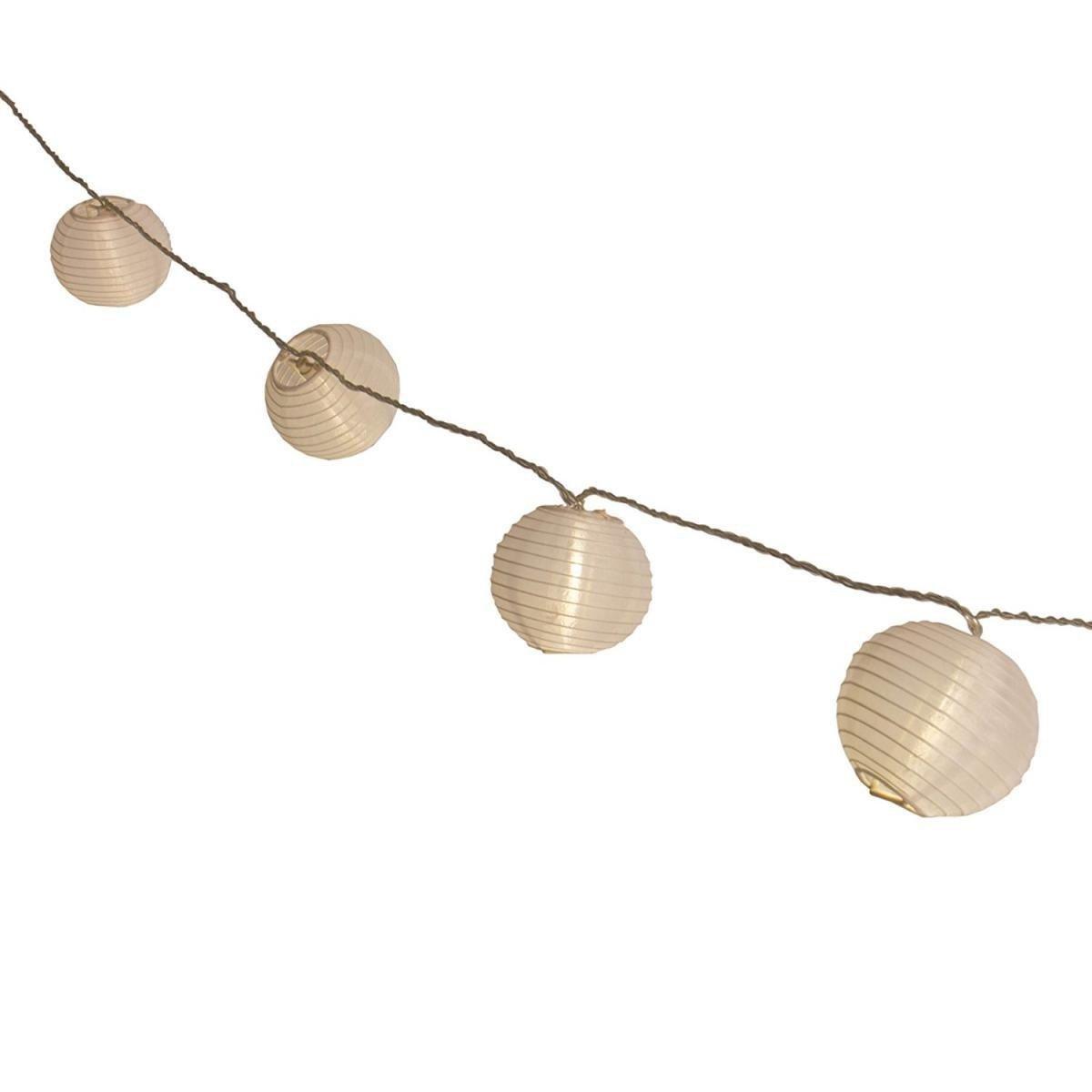 Bild 1 von Plaights LED-Sommerlichterkette weiß