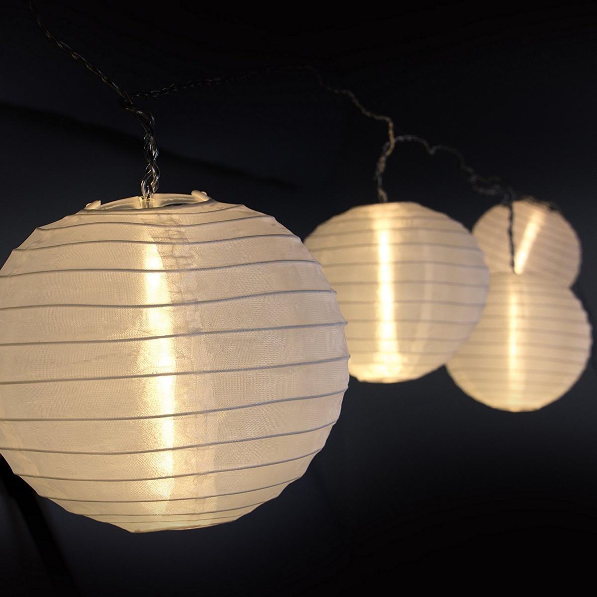 Bild 2 von Plaights LED-Sommerlichterkette weiß