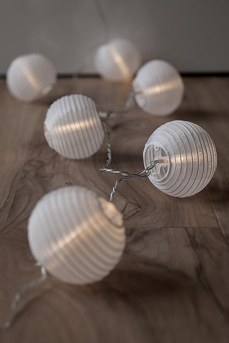 Bild 5 von Plaights LED-Sommerlichterkette weiß