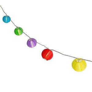 Plaights 20er LED-Sommerlichterkette bunt