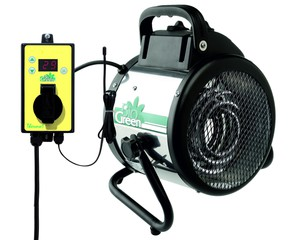 "Bio Green Gewächshausheizung ""Palma 2 kW"", digital"