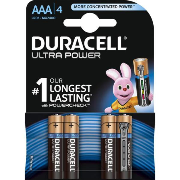Duracell Ultra Power Alkaline AAA Batterie
