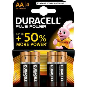 Duracell Plus Power Alkaline AA Batterie