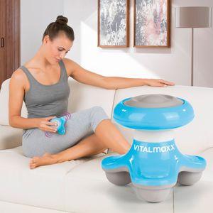 VITALmaxx Mini-Massagegerät to go 4,5V blau