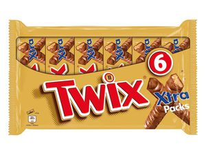 Twix Xtra Packs/ Snickers/Mars Duo Packs