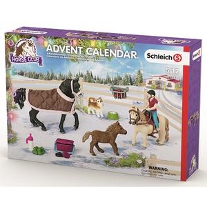 Schleich - 97447 Adventskalender: Horse Club