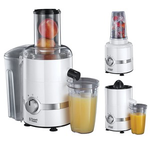 Russell Hobbs 22700-56 3 in 1 Ultimativer Entsafter, Sm...