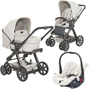 ABC Design - Travelsystem Turbo 6 All in One, Camel (Design 2018)