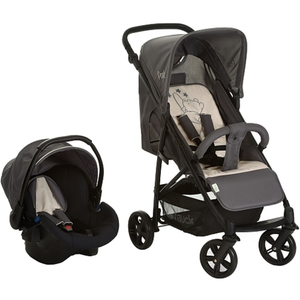 Hauck - Travelsystem Rapid 4 Shop´n Drive, Pooh Stars grey