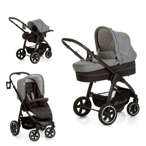Hauck - Travelsystem Soul Plus, Grey Caviar