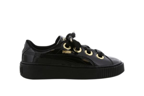 Puma Kiss Basket Patent - Damen Schuhe