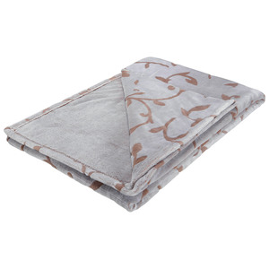 Microfaserdecke Supersoft Flanell Moments (140x200, taupe)
