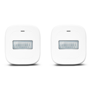 MEDION Smart Home Sparpaket - 2 x Bewegungsmelder P85707, Smart Home, 120° Weitwinkel, bis zu 8 Meter Reichweite (weiß)