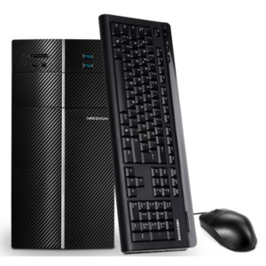 MEDION AKOYA P47004, Intel Core i7-7700, Windows 10 Home, GTX 1060, 16 GB RAM, 240 GB SSD, Multimedia PC