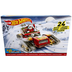 Mattel - Hot Wheels Adventskalender 2017