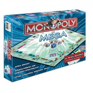 Winning Moves - Monopoly Sonder Edition Mega Monopoly