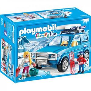 PLAYMOBIL 9281 - Family Fun - Auto mit Dachbox