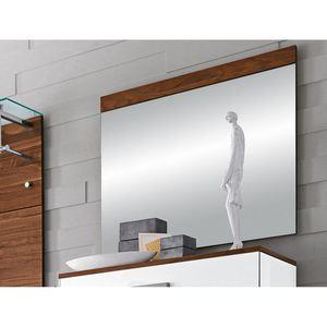 INTERhome Spiegel MASIMO Nussbaum ca. 90 x 76 x 2 cm