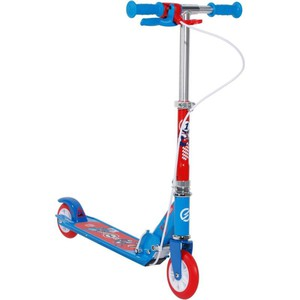 City-Roller Scooter Play 5 mit Bremse Kinder blau OXELO