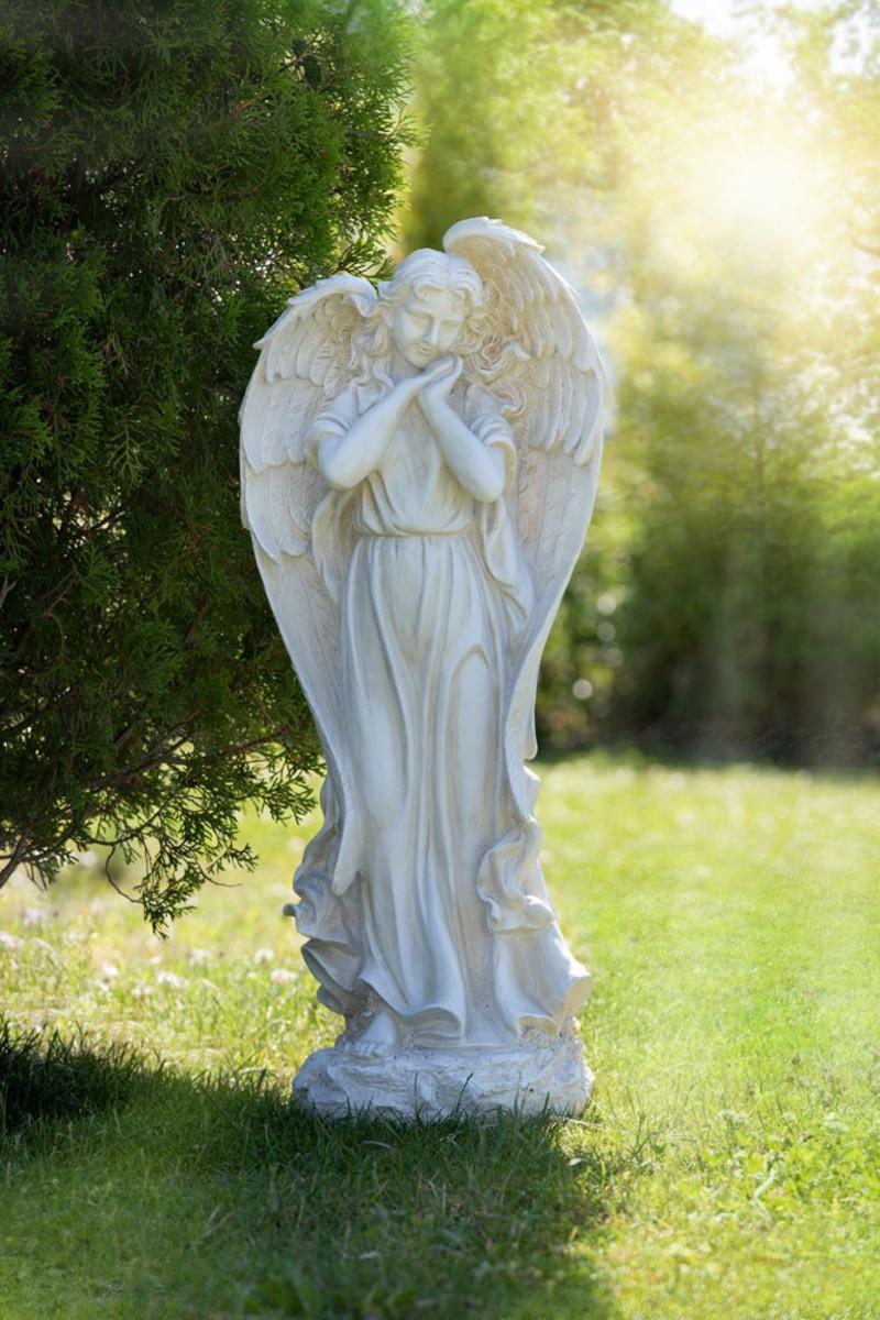 """Bild 1 von Powertec Garden Gartenstatue """"Engel"""""""