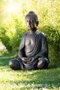 Bild 1 von Powertec Garden Buddha Figur aus Polyresin Antik-Look