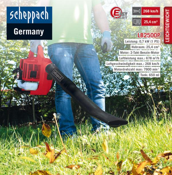 Scheppach Benzin-Laubbläser LB2500P