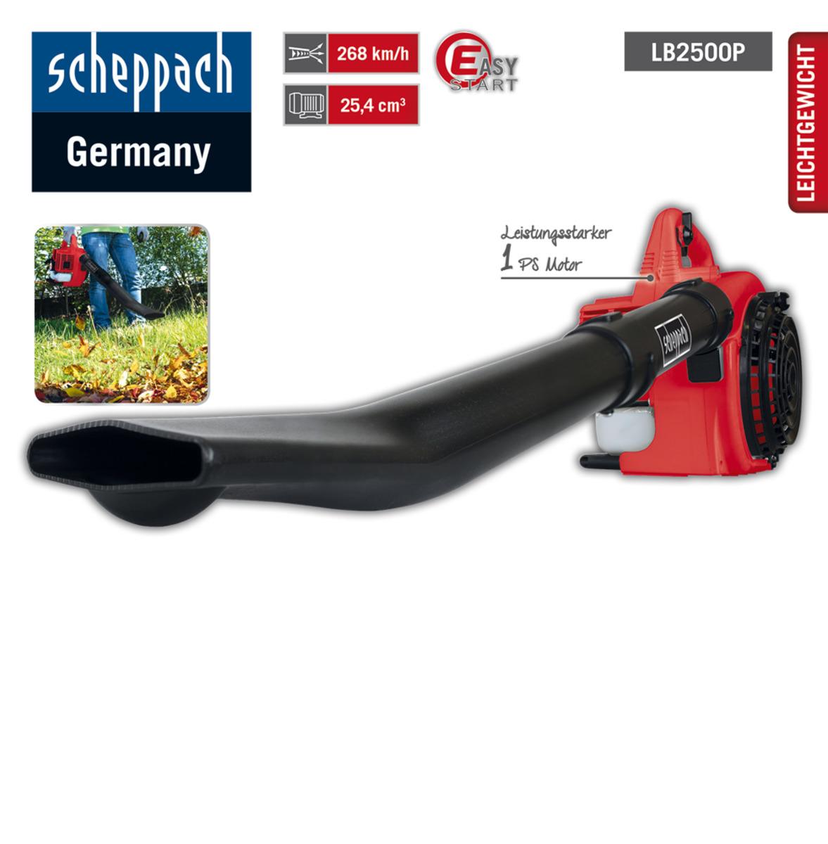 Bild 2 von Scheppach Benzin-Laubbläser LB2500P