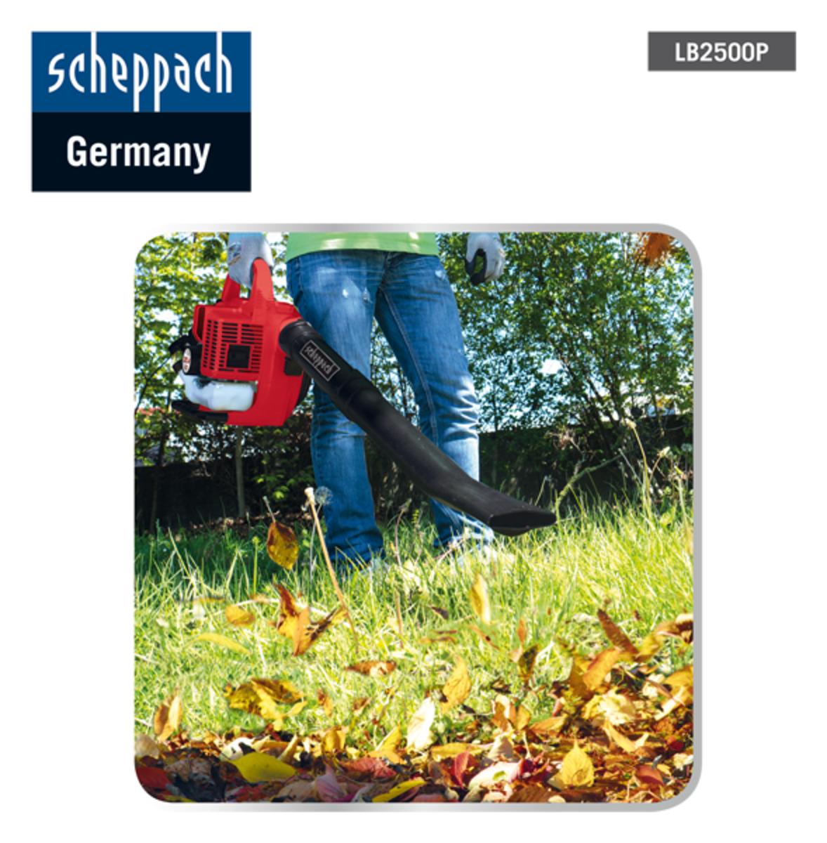 Bild 3 von Scheppach Benzin-Laubbläser LB2500P