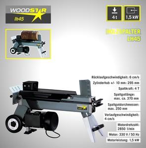 Woodster Holzspalter lh 45