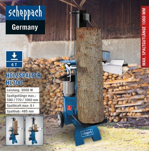 Scheppach Holzspalter HL700