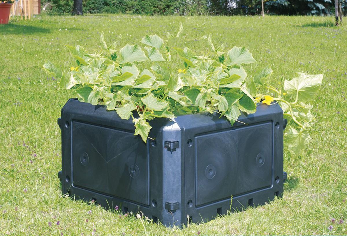 Bild 1 von KHW Aufbauset 230 Liter zu Bio-Qiuick, ohne Deckel